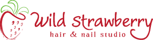 Wild Strawberry Salon Logo